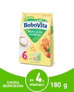 BOBOVITA Kaszka ryżowa o smaku brzoskwiniowym - 180 g - Apteka internetowa Melissa