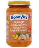 BOBOVITA Makaron z kabaczkiem kurczakiem i pomidorami po 9 miesiącu - 190 g - Apteka internetowa Melissa