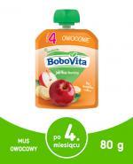 BOBOVITA MUS Jabłka i banany po 4 m-cu - 80 g - Apteka internetowa Melissa