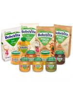 BOBOVITA Pierwsze Smaki zestaw 12 posiłków po 4 miesiącu: kaszki , kleiki ,obiadki i deserki  - Apteka internetowa Melissa