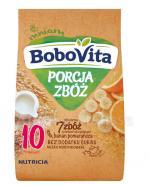 BOBOVITA PORCJA ZBÓŻ Kaszka mleczna banan-pomarańcza z płatkami kukurydzianymi po 10 m-cu - 210 g - Apteka internetowa Melissa