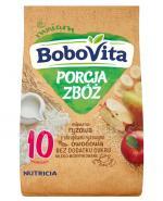 BOBOVITA PORCJA ZBÓŻ Kaszka mleczno-ryżowa z chrupkami ryżowymi po 10 m-cu - 210 g - Apteka internetowa Melissa