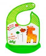 Bocioland Śliniak z kieszonką Żyrafa - 1 szt. - cena, opinie, właściwości