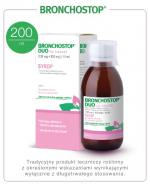 Bronchostop Duo syrop na kaszel suchy - 200 ml - cena, opinie, ulotka