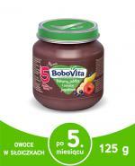BOBOVITA Banany, jabłka i owoce jagodowe po 5 m-cu - 125 g - Apteka internetowa Melissa