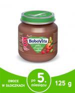 BOBOVITA Jabłka, winogrona i maliny - 125 g - Apteka internetowa Melissa