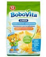 BOBOVITA JUNIOR Kaszka mleczno-wielozbożowa bananowo-pomarańczowa z płatkami kukurydzianymi po 12 m-cu - 230 g - Apteka internetowa Melissa