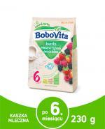 BOBOVITA Kaszka mleczno-ryżowa o smaku owoców leśnych po 6 m-cu - 230 g - Apteka internetowa Melissa