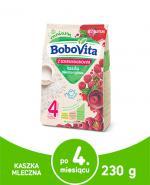 BOBOVITA Kaszka mleczno-ryżowa z sokiem malinowym po 4 m-cu - 230 g - Apteka internetowa Melissa