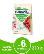 BOBOVITA Kaszka mleczno-ryżowa o smaku truskawkowym po 6 m-cu - 230 g - Apteka internetowa Melissa