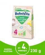 BOBOVITA Kaszka mleczno-ryżowa o smaku waniliowym po 4 m-cu - 230 g - Apteka internetowa Melissa