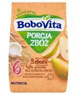 BOBOVITA PORCJA 3 ZBÓŻ Kaszka mleczna o smaku gruszkowym po 8 m-cu - 210 g - Apteka internetowa Melissa