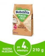 BOBOVITA PORCJA ZBÓŻ Manna kaszka mleczna po 4 m-cu - 210 g - Apteka internetowa Melissa