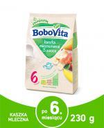 BOBOVITA Mleczna kaszka manna o smaku owocowym Pyszne Śniadanko - 230 g - Apteka internetowa Melissa