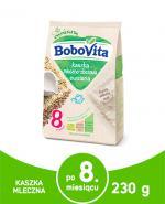 BOBOVITA Kaszka mleczno-wielozbożowa owsiane śniadanko po 6 m-cu - 230 g - Apteka internetowa Melissa