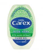 CAREX Antybakteryjny żel do rąk w tubce Aloe Vera - 50 ml - czyści bez użycia wody - cena, opinie, właściwości
