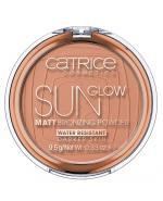 CATRICE SUN GLOW MATT BRONZING Puder brązujący Deep Bronze 020 - 9,5 g - Apteka internetowa Melissa