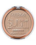 CATRICE SUN GLOW MATT BRONZING Puder brązujący Medium Bronze 030 - 9,5 g - Apteka internetowa Melissa