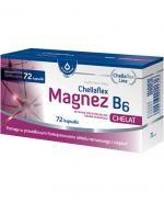 CHELLAFLEX MAGNEZ B6 - 72 kaps. - Apteka internetowa Melissa