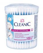 CLEANIC Patyczki higieniczne - 100 szt. - Apteka internetowa Melissa