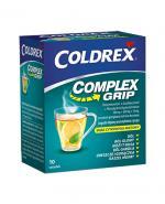 COLDREX MUCO GRIP Smak cytrynowo-miętowy - 10 sasz. - Apteka internetowa Melissa