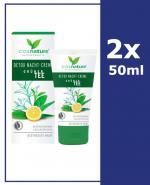 COSNATURE DETOX Naturalny krem z zieloną herbatą na noc - 2 x 50 ml - Apteka internetowa Melissa