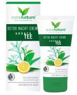 COSNATURE DETOX Naturalny krem z zieloną herbatą na noc - 50 ml - Apteka internetowa Melissa