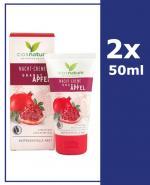 COSNATURE Naturalny odżywczy krem na noc z owocem granatu - 2 x 50 ml - Apteka internetowa Melissa