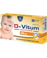 D-VITUM Witamina D dla niemowląt twist-off 600 j.m. - 36 kaps.