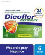DICOFLOR ELEKTROLITY Proszek - 12 szasz. (6 porcji) - Apteka internetowa Melissa