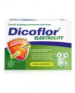 DICOFLOR ELEKTROLITY - 12 sasz. (6 porcji). Na odwodnienie.