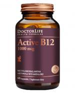 DOCTOR LIFE Active B12 1000 mcg - 60 kaps. - Apteka internetowa Melissa