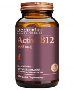 DOCTOR LIFE Active B12 500 mcg - 60 kaps. - Apteka internetowa Melissa