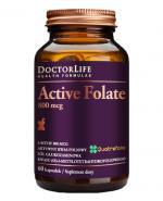 DOCTOR LIFE Active folate 800 mcg - 60 kaps. - Apteka internetowa Melissa