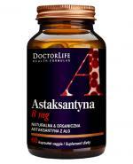 DOCTOR LIFE Astaxanthin 7 mg - 60 kaps. - Apteka internetowa Melissa