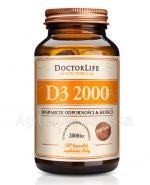 DOCTOR LIFE D3 2000 - 120 kaps. - Apteka internetowa Melissa