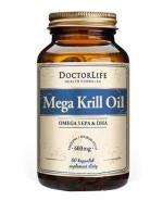 DOCTOR LIFE Mega krill oil - 60 kaps. - Apteka internetowa Melissa
