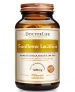 DOCTOR LIFE Sunflower Lecithin 1200 mg - 100 kaps. - Apteka internetowa Melissa