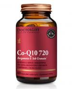 DoctorLife Co - Q10 720 Bergamota & Sok Granatu - 60 kaps. - cena, opinie, właściwości