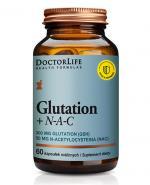 DoctorLife Glutation + N - A - C - 60 kaps. - cena, opinie, właściwości