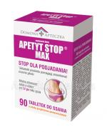 DOMOWA APTECZKA Apetyt Stop Max tabletki do ssania - 90 szt. - Apteka internetowa Melissa