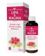 DOMOWA APTECZKA Lipa & Malina - 150 ml - Apteka internetowa Melissa
