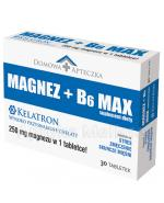 DOMOWA APTECZKA Magnez + B6 Max - 30 tabl. - Apteka internetowa Melissa
