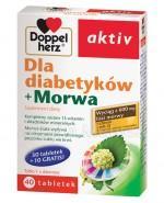 DOPPELHERZ AKTIV Dla diabetyków + morwa - 40 tabl. - Apteka internetowa Melissa