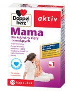 DOPPELHERZ AKTIV Mama dla kobiet w ciąży i karmiących - 60 kaps. - Apteka internetowa Melissa