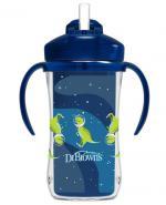 Dr Brown's Kubek termiczny ze słomką 12m+ niebieski - 300 ml - cena, opinie, wskazania