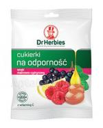 DR HERBIES Ziołowe cukierki na odporność smak malinowo-cytrynowy - 70 g - Apteka internetowa Melissa