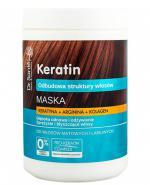DR. SANTE KERATIN Maska z keratyną, argininą i kolagenem do włosów matowych i łamliwych - 1000 ml - Apteka internetowa Melissa
