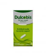 DULCOBIS czopki - 6 szt. Lek na zaparcia.