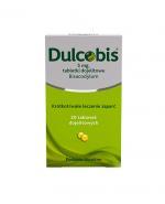 DULCOBIS 5 mg - 20 tabletek dojelitowych. Lek na zaparcia - cena, opinie, ulotka